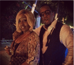 Diddy and Mama Combs