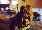 Jay and Bey on motorcycle
