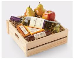 Hickory Farm Gift Basket